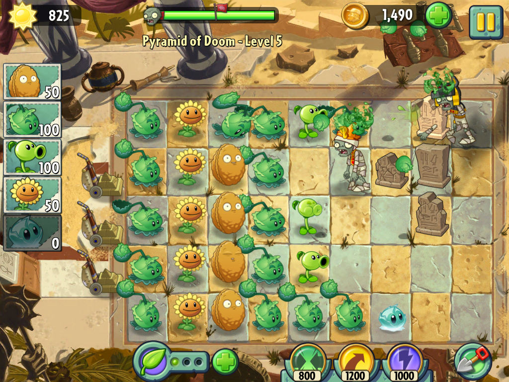Plants Vs Zombies 2 -1-4