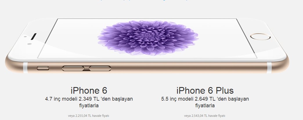 iphone 6 fiyat